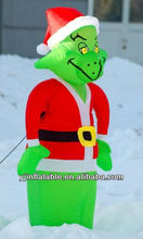 2013 fashion inflatable Christmas decoration/inflatable grinch