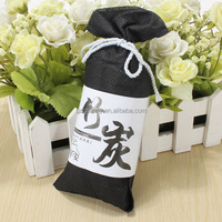 Best Price 100g Bamboo Charcoal Activated Carbon Bag Air Freshener Odor Deodorant for Car Home