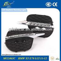 For BMW1 X5 E70(11-12) Fog Lamp LED Daytime Running Light/ LED DRL Light For BMW X5 E70 (2009-2012)