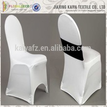 Banquet and weddings pure spandex folding chair cover