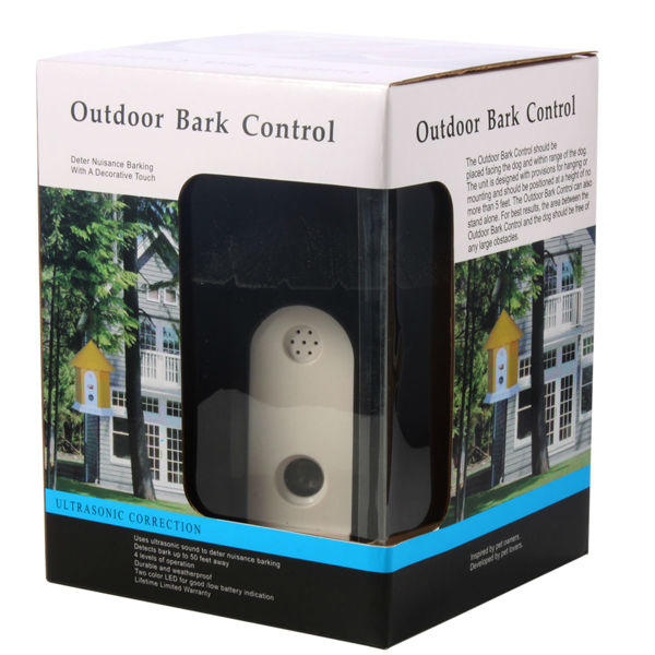 Ultrasonic Bark Controller Effective For Dogs Daunt Unwanted Barking 4 Levels