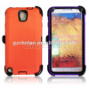 New arrival for samsung galaxy note3 case,note 3 combo case with holster