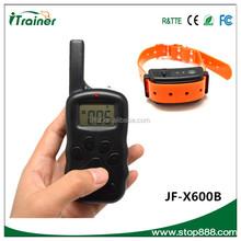pet training products bark stop collar JF-X600B shock collar training collar