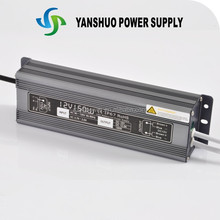 CE ROHS approved 12v switching power supply 150w led waterproof led power supply
