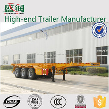 Container Skeletal Semi Trailer 40ft Container Chassis