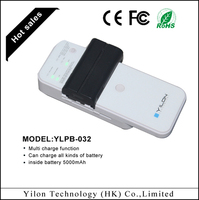 fashion 5000mah rohs mobile phone lithium battery charger