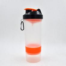 OEM branded protein shake shaker bottle with cap,bpa free protein bottle shaker