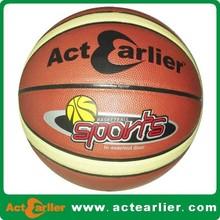 pu laminated custom size 5 basketball