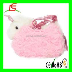 LE B0118 Aurora World Fancy Pals Plush Pink Pet Carrier