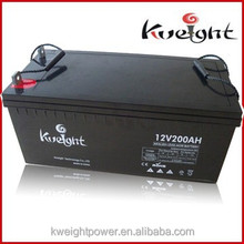12v 200ah rechargeable deep cycle battery, 200ah solar battery manufucturer in China