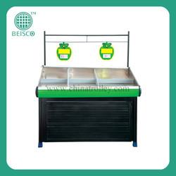 Good quality fruit vegetable display rack