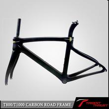 T1000 full carbon 1K carbon road frame F8 bike 44/46.5/50/51.5/53/55/57.5CM Free shipping