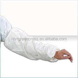 LDPE/CPE/PVC/PU Plastic Sleeve Cover different nonwoven material obtain different features