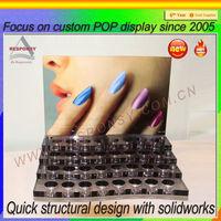 factory opi acrylic nail polish display stand