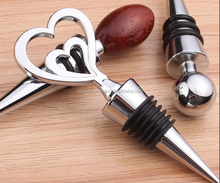 wholesale stainless steel/cork stopper wine bottle stopper parts