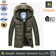 2015 New Casual Customized Outdoor Down Clothing For Man With Hoody,Down Jacket