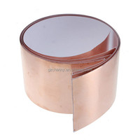 2015 NEW 5cm x30cm Single Sided Electric Conductive Adhesive Copper Foil Tape Insulation Tape Shielding for Guitar Accessaries
