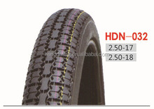Motorcycle Tire HDN032, 2.50-17, 2.50-18