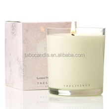 Soy Wax high quality scented candle in glass jar
