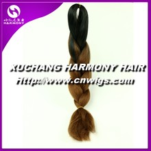 STOCK colorful braiding hair wholesale/synthetic hair braiding