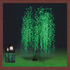 artificial led weeping willow tree light for garden christmas decoration led wedding decoration