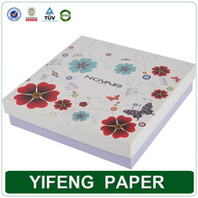customized design your own paper cosmetic packaging box printed your logo on the box