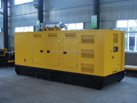 soundproof 20ft container 1000kva generator powered by Cummins, mitsubishi