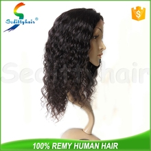 China export top 5 braided human hair wigs deep wave grey human hair wigs