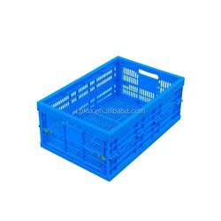 Mesh Plastic Foldable Plastic Crate for fruit
