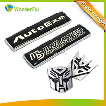 Automobiles & Motorcycles Accessories Strong Metal Casted And Leaf Epoxy Sticker Decorative Transformer Metal Car Emblem