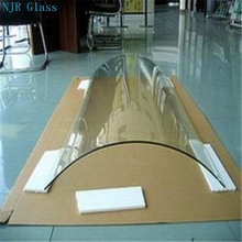 5--15mm hard tempered glass roofing panels