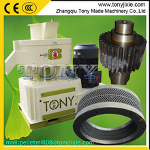 J Tony CE ring die wood pellet mill/wood pellet machine with automatic lubrication