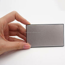 Promotional Gift Card 2200mAh Power Bank Rechargable
