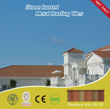 ridge cap tile stone coated metal roof tile