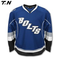 Custom design team sublimation high qualiyt ice hockey jersey