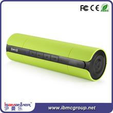 Handfree call 1400mah battery portable usb slot bluetooth speaker outdoor