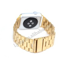 For Apple Watch 42mm Stainless Steel Metal For iWatch Strap with Band Adapters
