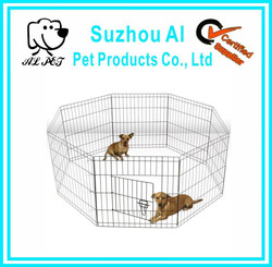 New Folding Metal Portable Dog Fence