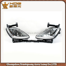 High quality auto lighting system avante elantra 11 fog light , car accessories maiker elantra avante 2011 car fog lamp