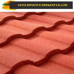 stone tile red asphalt roof shingles nature stone coated roof tiles