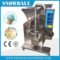 Gelato Ice Cream Production Line, Fruit Mixing Feeding Machine