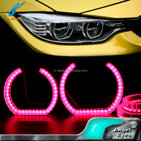 5050SMD leds for bmw E90 rgb remote control angel eyes classic car parts