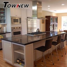 Urban light gray quartz surface countertop kitchen room use