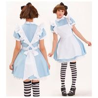 Japan Anime Cosplay Costume Sweet Love Maid Outfit Maid Dress Cosplay Dress New Free Shipping FS00446 Free Shipping
