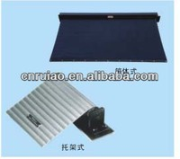 flexible aluminim cover , rolling curtain shield