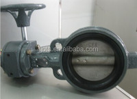 3 inch JIS 5K, 10K , 20K cast iron body cf8m disc with hand lever butterfly valve
