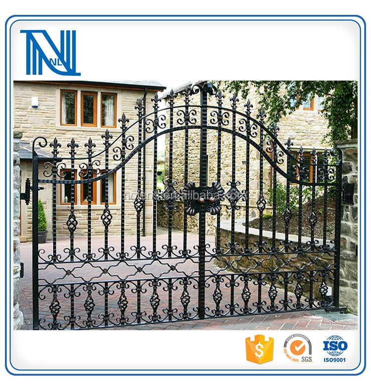 Custom Modern Boundary Wall Gates From Factory/iron Gate