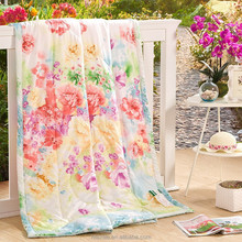 2015 Wholesale Cheap Summer Lace Microfiber Quilt/Tencel quilt Wholesale