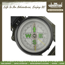TB12-004 Outdoor Equipment Zinc Alloy Multi-function gps Compass Military Compass