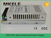 MS-20-12 20w switch power supply plastic enclosure for power supply 12v led power supply circuits
